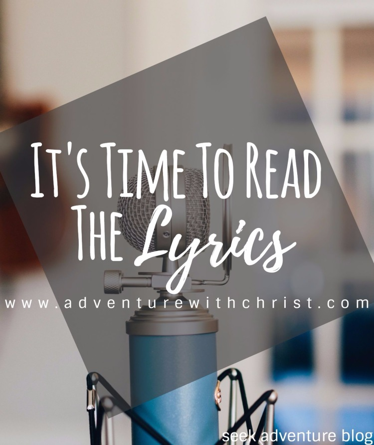 It's Time To Read The Lyrics! The music industry has gone down a path of serious immorality and it's affecting people in a horribly negative way- especially the kids.