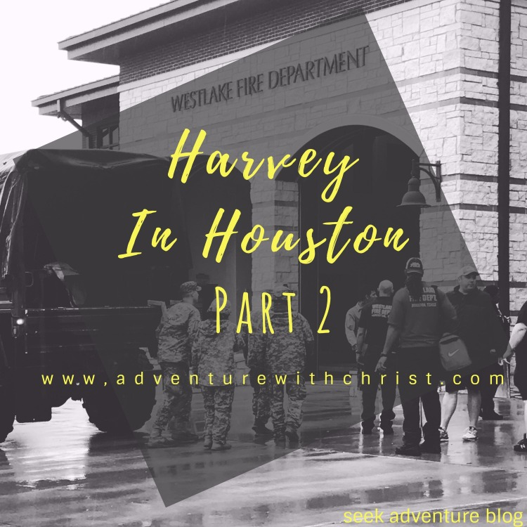 Harvey in Houston Part 2! Read all about my firsthand experience with Harvey.
